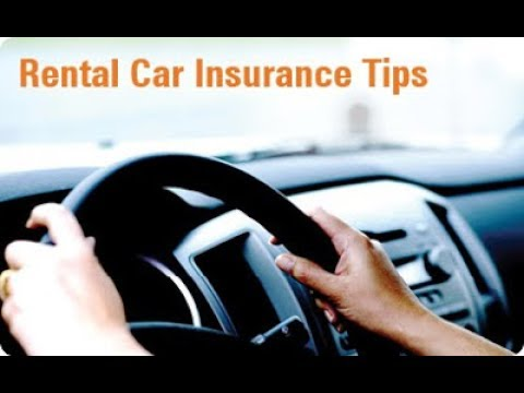 Car Rental Insurance Tips