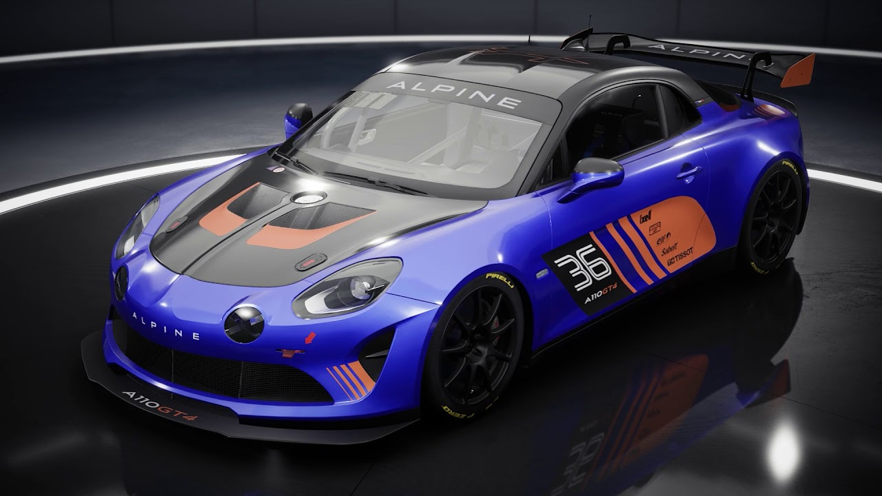 Assetto Corsa Competizione GT4 Pack DLC: Introducing the Alpine A110 GT4