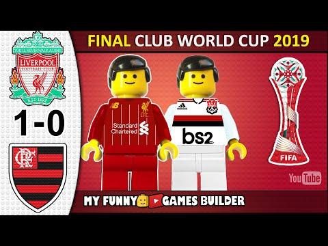 Liverpool Vs Flamengo 1-0 • Final Club World Cup Qatar 2019 🏆 • All Goals Highlights Lego Football
