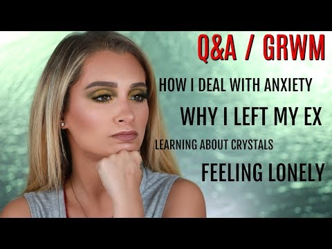 GRWM MAKEUP TUTORIAL + Q&A