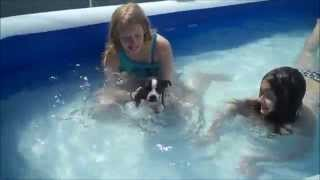 Kayla @ Savannah / Pool Dog Bandit VID200