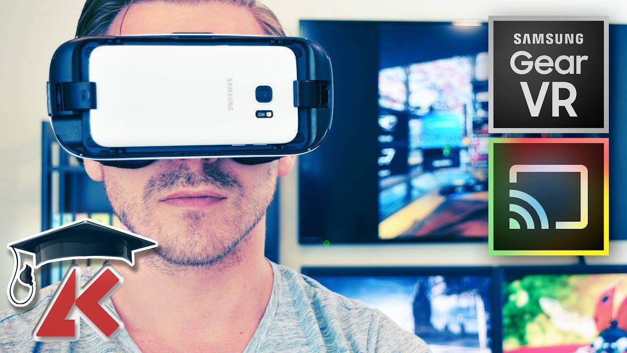 Vr Tutorial Mirror Gearvr To Tv Via Chromecast Youtube