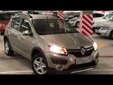 Renault Sandero Stepway, 2016, 1.6 MT (82 л.с.) Экспресс обзор от Сергея Бабинова Автосалон Boston