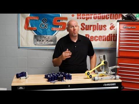 Corvette Suspension Bushing Kits By SuperPro, C4 84-96