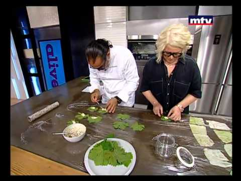 Whats Cooking - Stuffed Vines Leaves - 19/08/2015