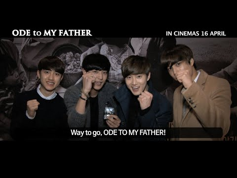 Korean Celebrities' Feedback for Ode to My Father - In Singapore Cinemas 16 April