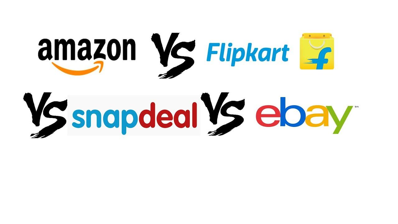 e336dea8116 Amazon vs Flipkart vs Snapdeal vs Ebay - YouTube