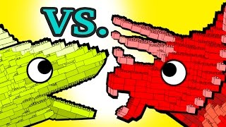 "LEGO! ""My Cute Shark Attack Cartoon"" #29 (LEGO Dino Vs. LEGO Shark! +BEST OF) kids cartoons!"