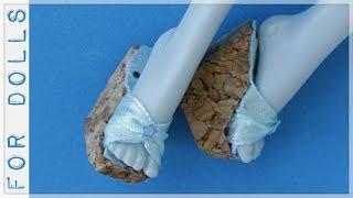 как сделать кукле обувь смотреть бесплатное