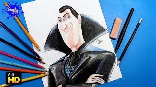 HOTEL TRANSYLVANIA 2 /How to draw dracula/Como dibujar a dracula