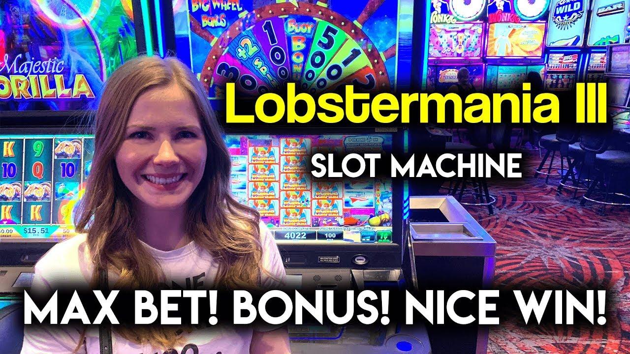 Beautiful Run on Lobstermania 3 Slot Machine! Big Wheel ...