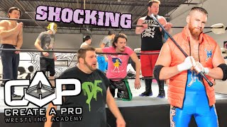 CURT HAWKINS SAVES GTS! - Grim vs Clash for CREATE A PRO Championship! Wrestling School LIVE EVENT!