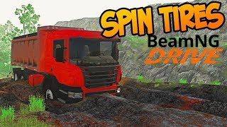 SpinTires: MudRunner в BeamNG.drive