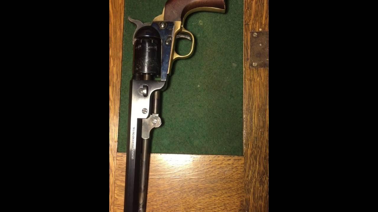 Review of the Pietta colt 1851 navy revolver replica
