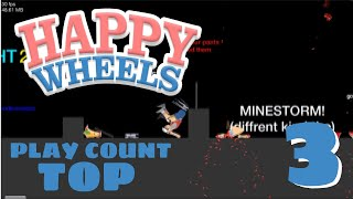 HAPPY WHEELS TOP 5 Play Count of the week #3