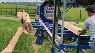 American Bandsaw Co - Portable Bandsaw Mill- hydraulic log loader