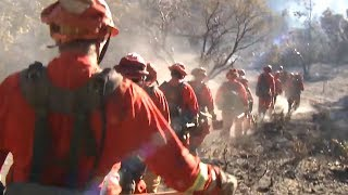 As Camp Fire Death Toll Rises, Meet the Prisoners Making $1 an Hour to Fight California's Wildfires