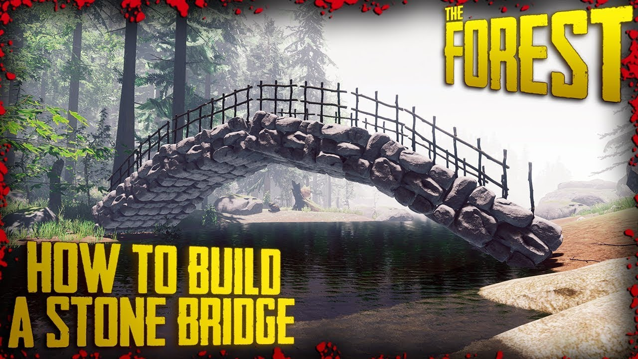 How To Build A Stone Bridge Farc V0 73 The Forest 4k