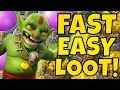 MASS GOBLIN Farming is AMAZING!! GIGOB Farming Attack Strategy in Clash Of Clans