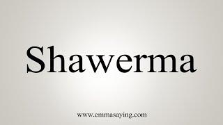 How To Say Shawerma screenshot 5