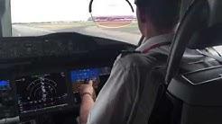 Virgin Atlantic 787-900 Cockpit Takeoff Heathrow