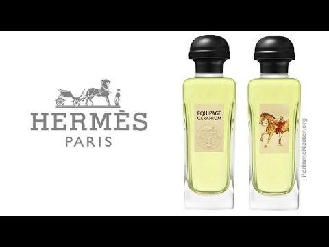 Hermes Equipage Geranium Fragrance Youtube
