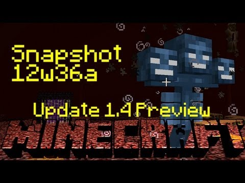 Minecraft Snapshot 12w36a Overview