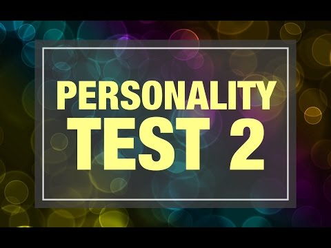 Personality Test 2