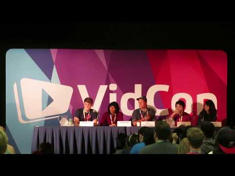 ★ YouTube animators panel (Animation Collective) #Vidcon #FreedomFamily