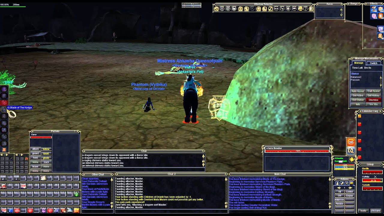 Everquest - Wall of Slaughter Mage/Rogue Duo