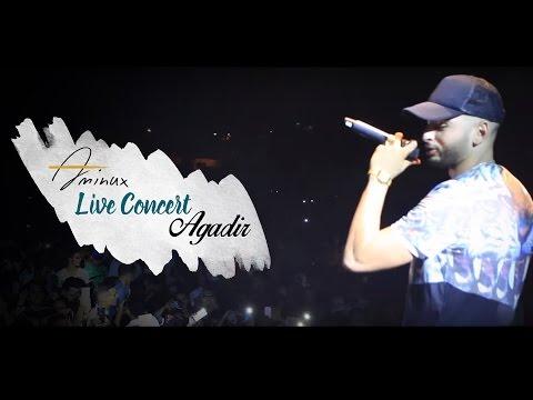 Amine Aminux - Live Concert (Agadir) | أمين أمينوكس - حفلة أكادير
