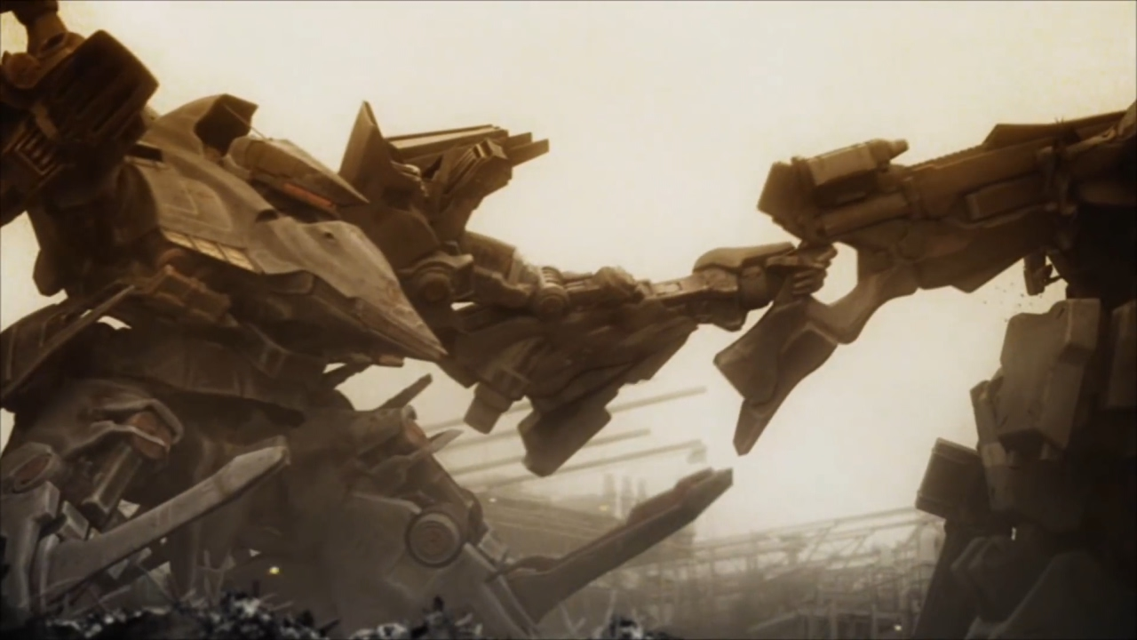 4 ARMORED CORE4 chapter3【HARD...