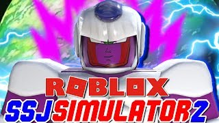'NOUVEAU TRANSFORMATIONS ADDED! Cooler Boss aussi! Roblox: Simulateur Super Saiyan 2