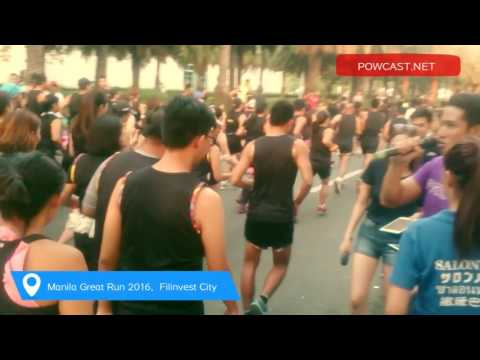 Powcast Sights and Sounds : 2016 Manila Great Run #mgr