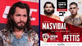 Jorge Masvidal gives update on his upcoming match against Anthony Pettis Video