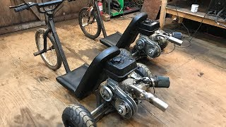 rebuilding my old motorized drift trikes part 2