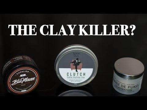THE CLAY KILLER? | Clutch vs. Cavalier vs. Claymation | HAIR COMPARE