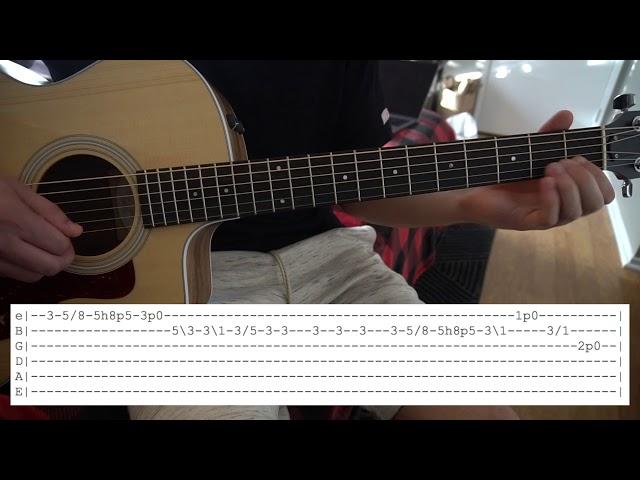Shrike // Hozier // Easy Guitar Lesson // (W/Tabs!)
