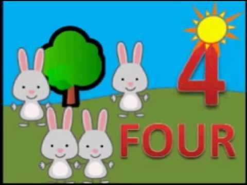 La Cancion De Los Numeros En Ingles Del 1 Al 5 Para Niños De Guardería Bbtv1 Youtube