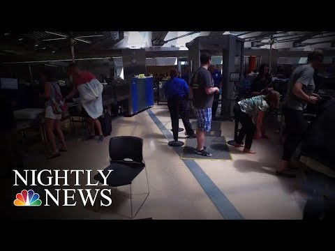 TSA Fails Most Undercover Tests | NBC Nightly News