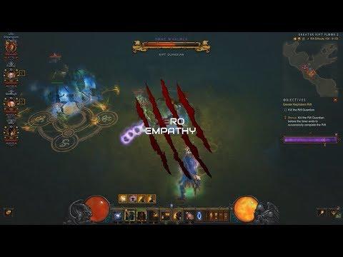 [Diablo 3] Season 17 GR150 4man [12:46] feat. Bone Warlock !