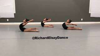 Dance flexibility and strength exercise for back cradle-Richard Elszy Building Blocks Of Dance