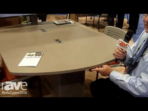 InfoComm 2016: Spectrum Industries Intros Brand New InVision Access Table