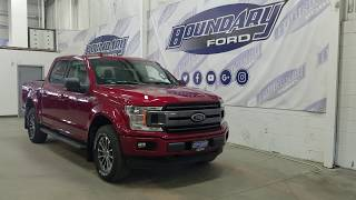 2018 Ford F-150 SuperCrew XLT Sport 302A W/ 3.5L EcoBoost Overview | Boundary Ford