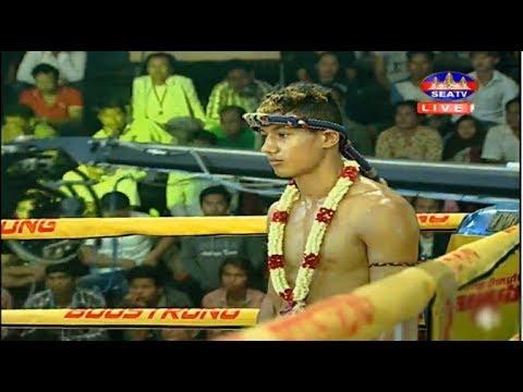 Meach Sokra vs Kevin(france), Khmer Boxing Seatv 11 March 2018, Kun Khmer vs Muay Thai