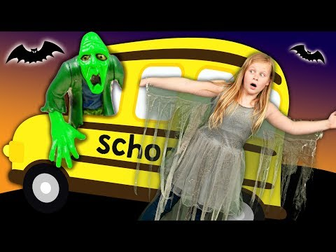 Assistant Goes to Spooky School with PJ Masks Romeo and Silly Monsters