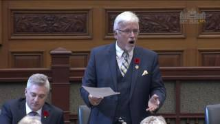 MPP Nicholls Asks If Energy Minister Will Step Aside Until Bribery Charges Resolved