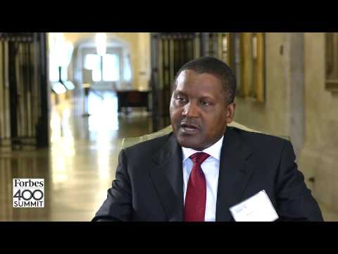 Africa's Richest Person Aliko Dangote On Why He's Stepping Up His Philanthropy | Forbes