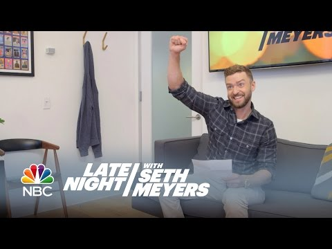 Justin Timberlake's New Late Night Theme Songs – Late Night with Seth Meyers