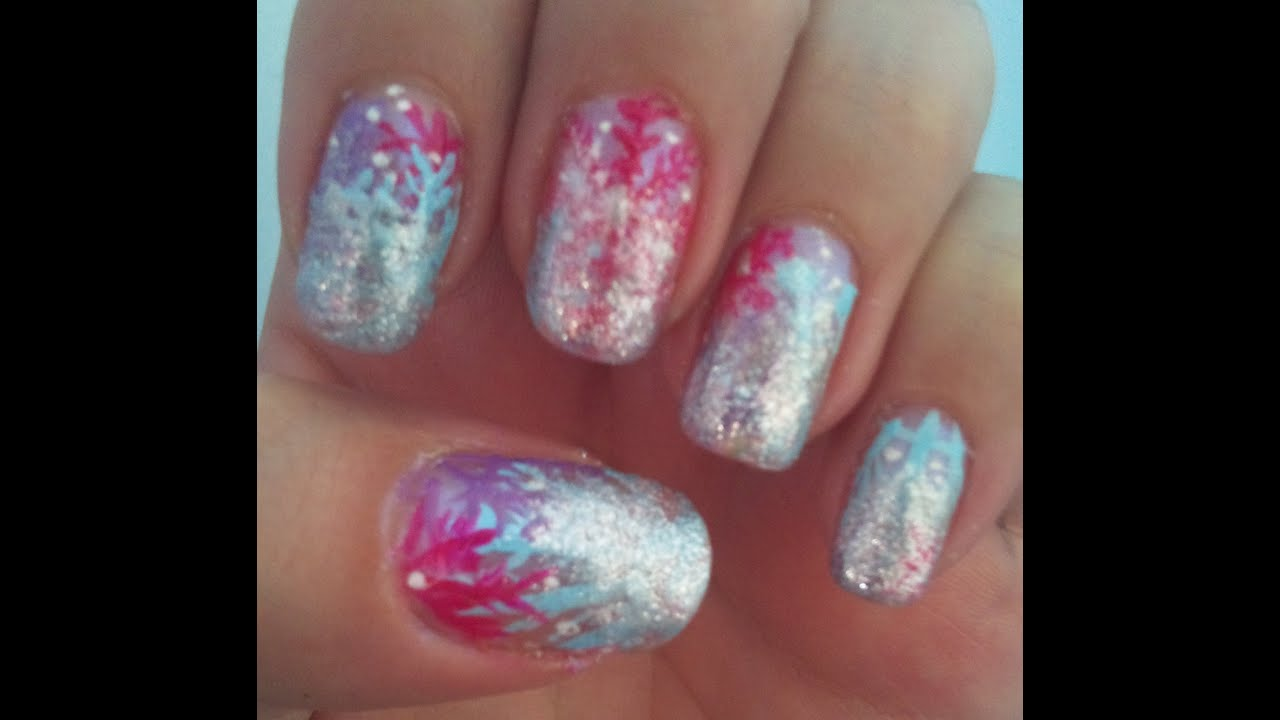 Monster High Nail Art Abbey Bominable Youtube